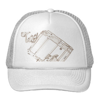 Marching Snare Drum Cap or Hat