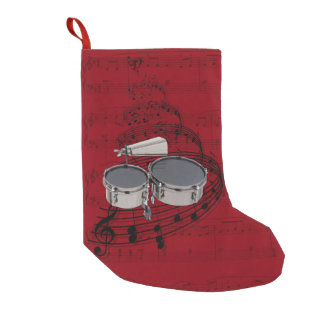 Marching Timbales with cowbell music stocking