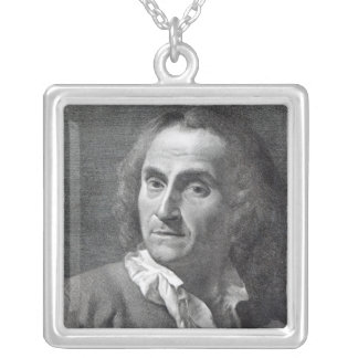 Marco Alvise Pitteri, engraved by the subject Silver Plated Necklace