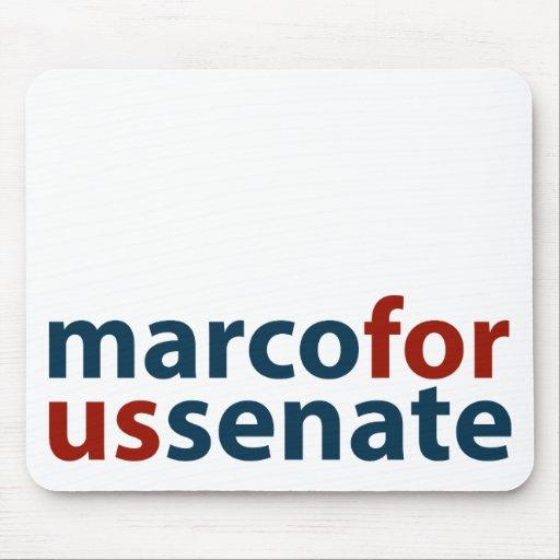 Marco For U.S. Senate Mouse Pad