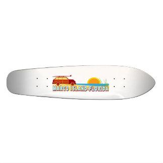 Marco Island. 21.6 Cm Skateboard Deck