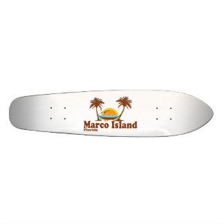 Marco Island. Custom Skate Board