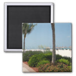 Marco Island, FL Square Magnet