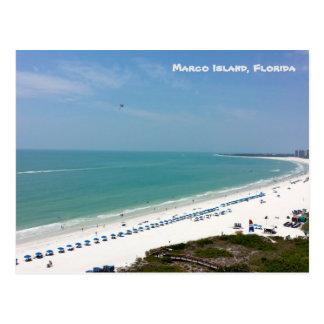 Marco Island Florida Beach Gulf Of Mexico Postcard
