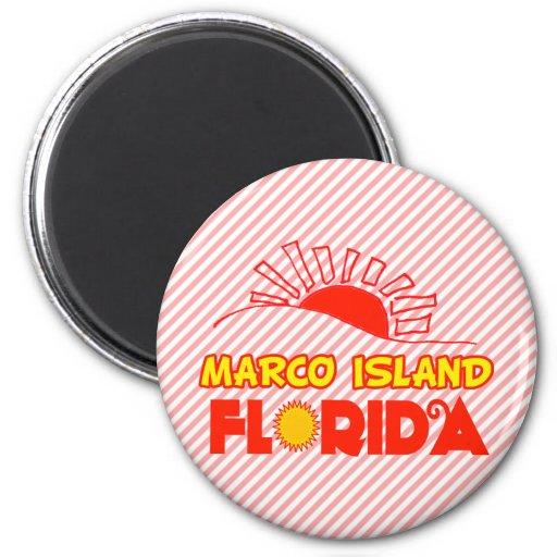 Marco Island, Florida Refrigerator Magnet