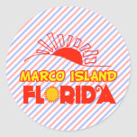 Marco Island, Florida Stickers