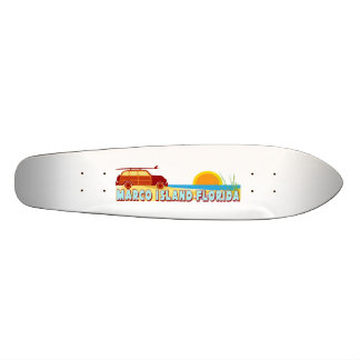 Marco Island. Skateboard