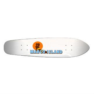 Marco Island. Skateboard Deck