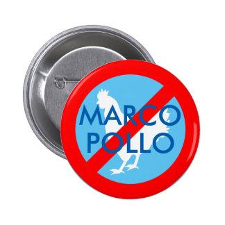 Marco Pollo 6 Cm Round Badge