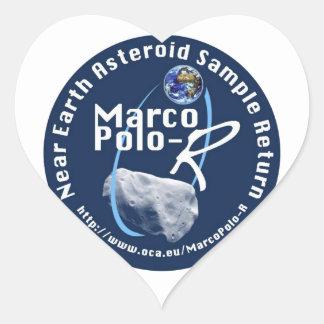 Marco Polo-R Heart Sticker