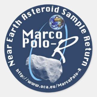 Marco Polo-R Round Sticker