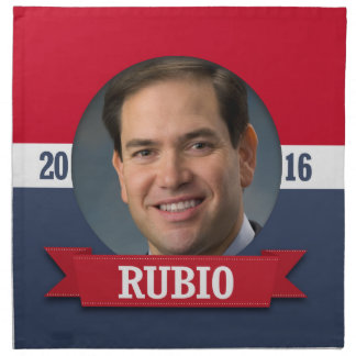 Marco Rubio 2016 Printed Napkins