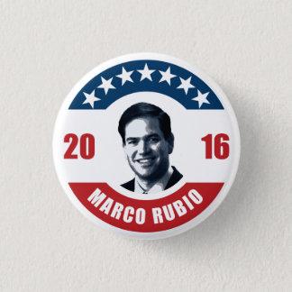 Marco Rubio for president 2016 3 Cm Round Badge