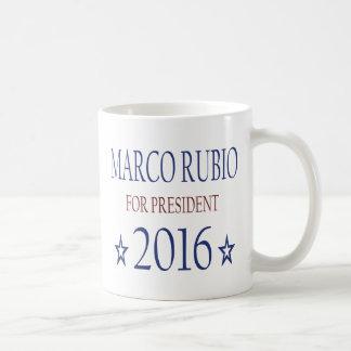 Marco Rubio for President 2016 Basic White Mug