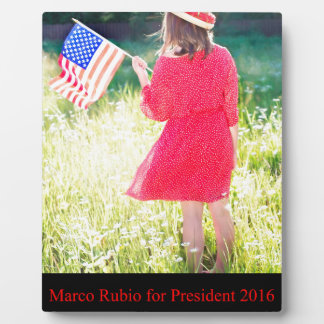 Marco Rubio for President 2016 Display Plaques