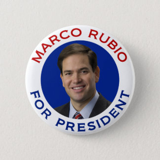 Marco Rubio For President 6 Cm Round Badge