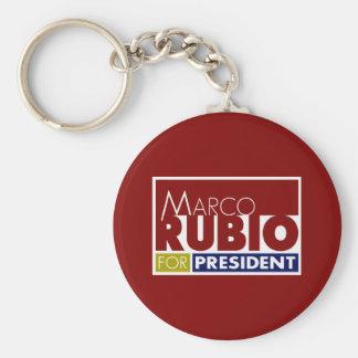 Marco Rubio for President V1 Keychain