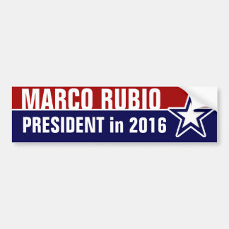 Marco Rubio in 2016 Bumper Sticker