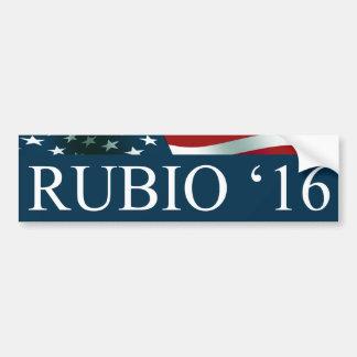 Marco Rubio President 2016 Car Bumper Sticker