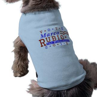 Marco Rubio President 2016 Election Republican Sleeveless Dog Shirt