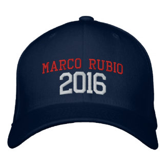 Marco Rubio President 2016 Embroidered Cap