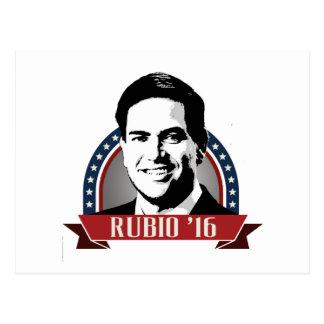 MARCO RUBIO TO RUN IN 2016 -.png Postcard
