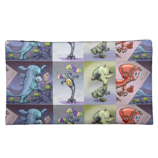 MARCO, TIM A+ Your Custom Sueded Medium C Monsters Makeup Bag