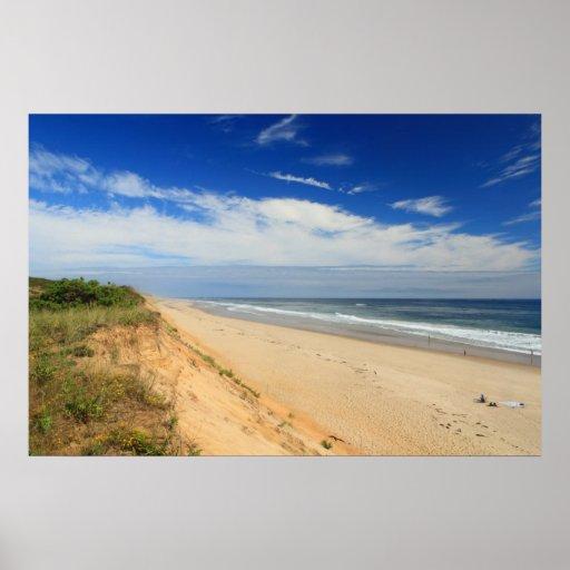 Cape Cod National Sea Shore: Marconi Beach Cape Cod National Seashore Dunes Poster
