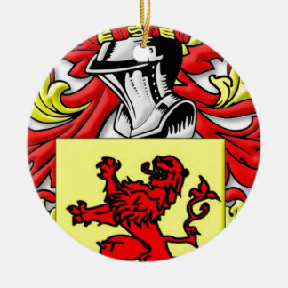 Marcotte Coat of Arms Ornaments
