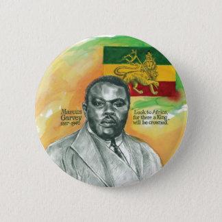Marcus Garvey 6 Cm Round Badge