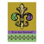 Mardi Fleur de Gras Invitation