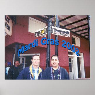 Mardi Gras 2002 Poster