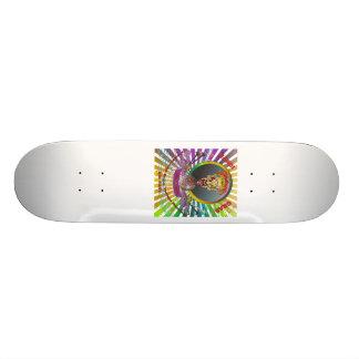 Mardi-Gras-2011 The Joker-1 Custom Skate Board