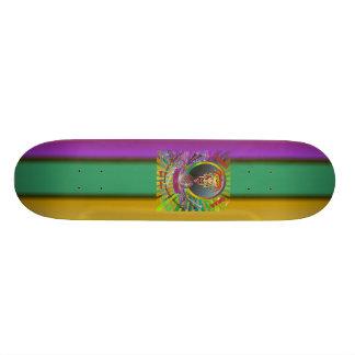 Mardi-Gras-2011 The Joker-1 21.3 Cm Mini Skateboard Deck