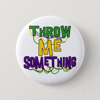 Mardi Gras 6 Cm Round Badge