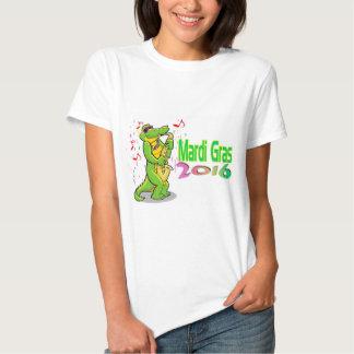 Mardi Gras Alligator Tee Shirts