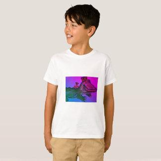 Mardi Gras Alligator with Crawfish T-Shirt