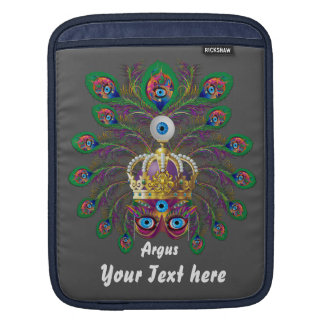 Mardi Gras Argos-Argus Eyes Important view notes Sleeve For iPads