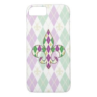 Mardi Gras Argyle iPhone Case-Mate Case