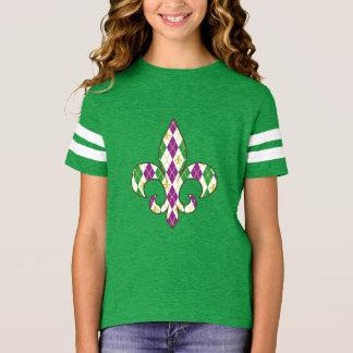 Mardi Gras Argyle Kid's and Baby Shirt
