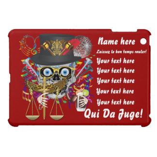 Mardi Gras Award Plaque Gift notes view iPad Mini Cases