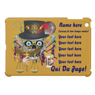 Mardi Gras Award Plaque Gift view notes iPad Mini Covers