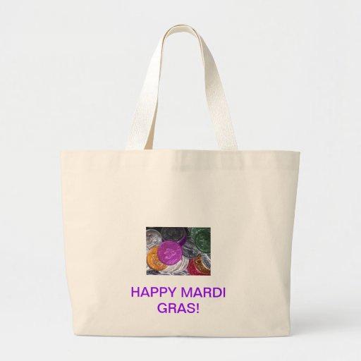 Mardi Gras Canvas Bag