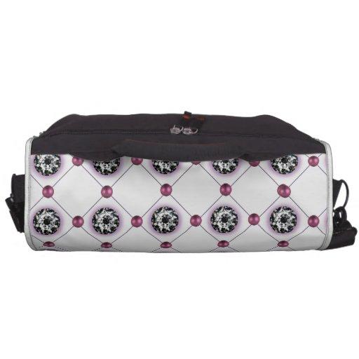 Mardi Gras Bead and Rhinestone pattern Bag For Laptop