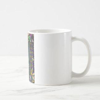 Mardi Gras Beads Coffee Mugs