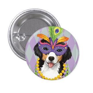 Mardi Gras Berner 3 Cm Round Badge