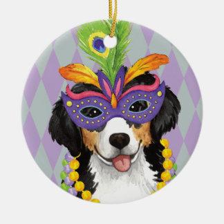 Mardi Gras Berner Christmas Ornament