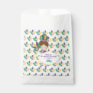 Mardi Gras Birthday Party For Girl Favour Bags