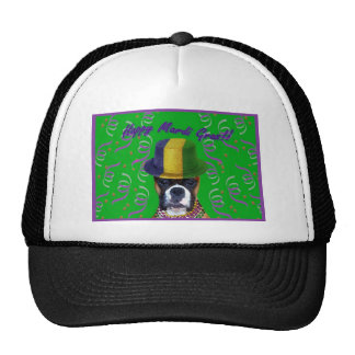 Mardi Gras Boxer baseball cap Trucker Hat