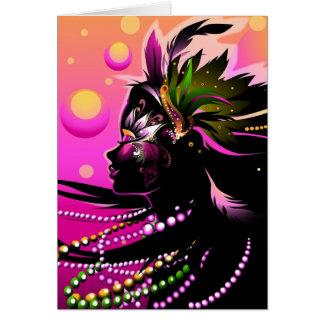 Mardi Gras Card